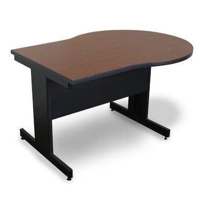 "48"" W Vizion Keyhole Training Table Tabletop Finish: Cherry"