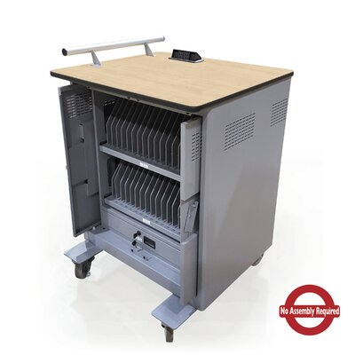 Power Center 32-Compartment Tablet Charging Cart