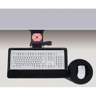"Articulating 3"" H x 27"" W Desk Keyboard Platform"