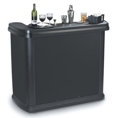 Maximizer Portable Bar Color: Black