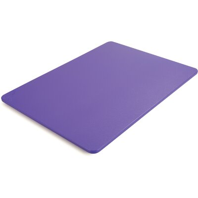 "Spectrum Cutting Board (Set of 6) Size: 0.5"" H x 24"" W x 18"" D"