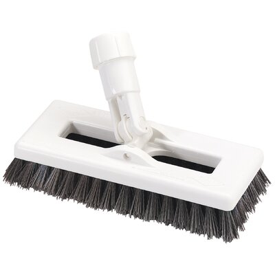 Swivel Scrub with Polyester Bristles Color: Red