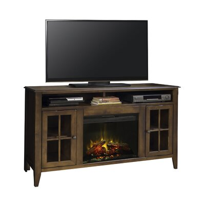 "Delron 60"" TV Stand with Fireplace"