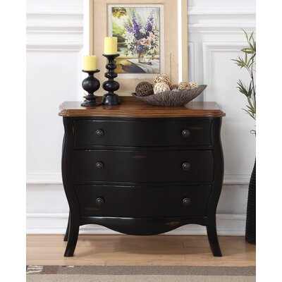 Deniece 3 Drawer Accent Chest