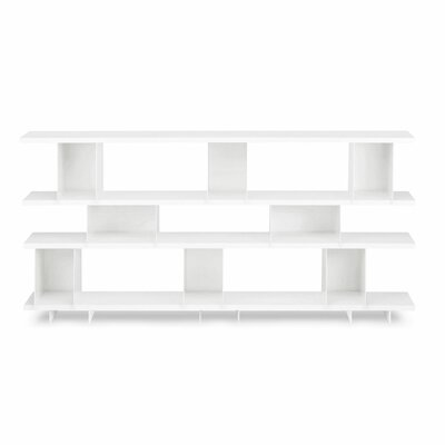 Shilf Cube Unit Bookcase Color: White