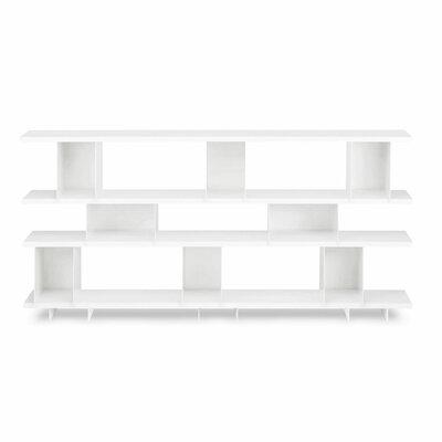 Shilf Cube Unit Bookcase Color: White