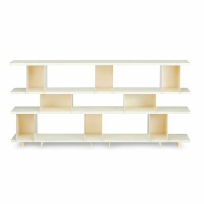 Shilf Cube Unit Bookcase Color: Ivory