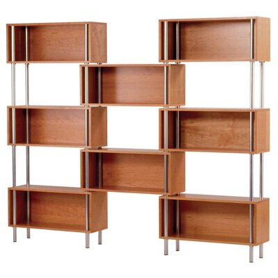 Chicago Oversized Set Bookcase Color: Cherry