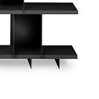 Shilf Foot Block Standard Bookcase Color: Black