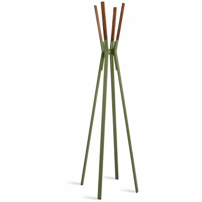 Splash Coat Rack Color: Olive