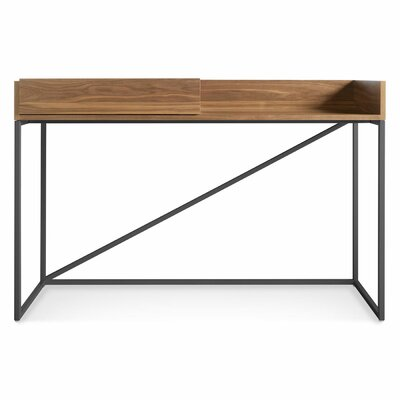 Swish Console Table Leg Color: Matte Slate