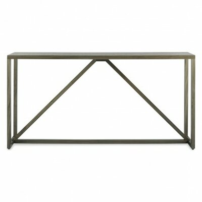 Strut Console Table Color: Smoke