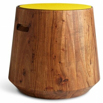 Turn Stool Color: Yellow