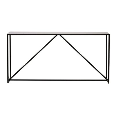 Strut Console Table Color: Slate