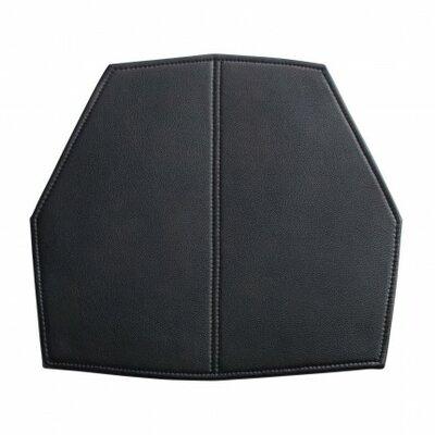 Real Good Seat Cushion Body Fabric: Black