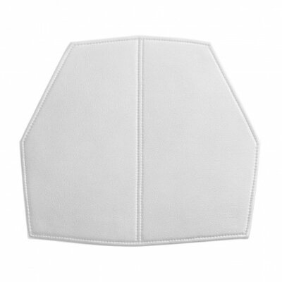 Real Good Seat Cushion Body Fabric: White