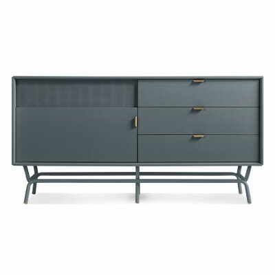 """Dang 56"""" TV Stand Color: Marine Blue"""