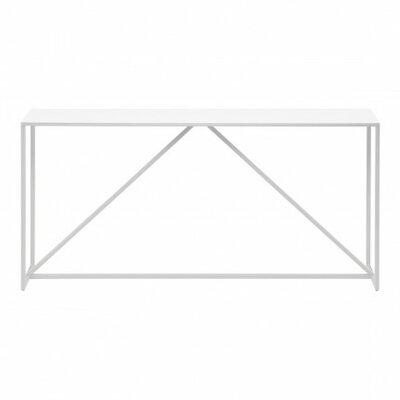 Strut Console Table Color: White