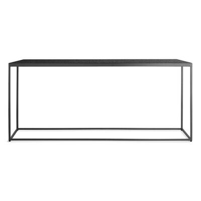 "Construct 42"" Bench Color: Heathered Graphite"