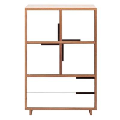 Modu-Licious Storage Cabinet Color: Walnut