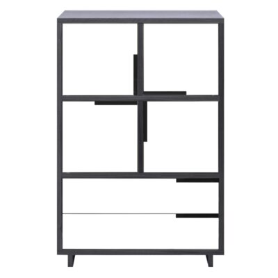 Modu-Licious Storage Cabinet Color: Graphite on Oak