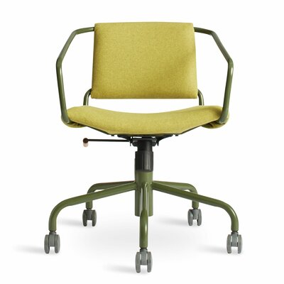 Daily Task Chair Cushion Color: Gingrich Green