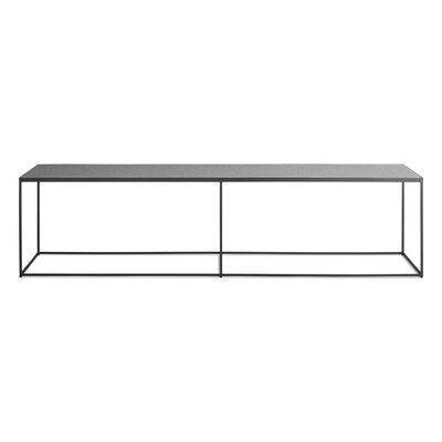 Construct Metal Bench Color: Heathered Off White