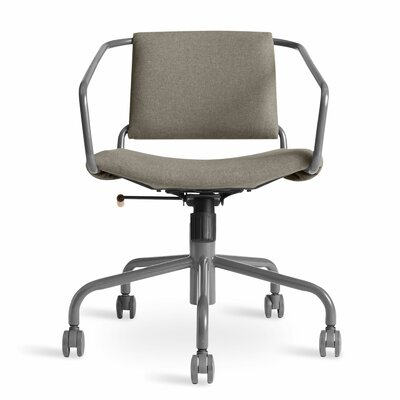 Daily Task Chair Cushion Color: Gingrich Charcoal