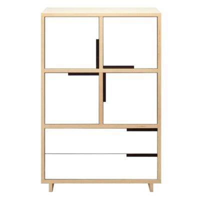 Modu-Licious Storage Cabinet Color: Maple