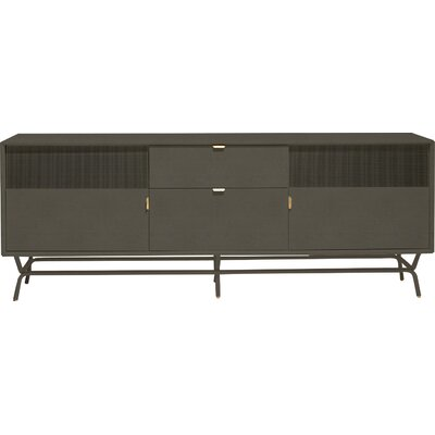 """Dang 82"""" TV Stand Color: Risk-Averse Grey"""