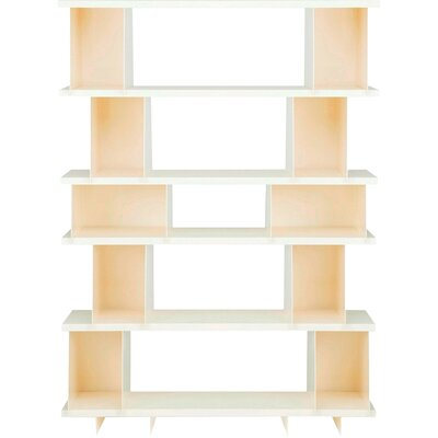 Shilf Version Standard Bookcase Color: Ivory
