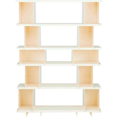 Shilf Version Standard Bookcase Color: Ivory