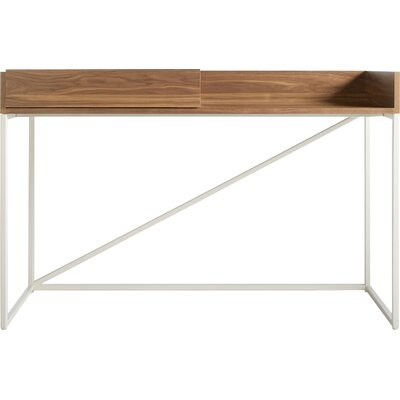 Swish Console Table Leg Color: Matte White