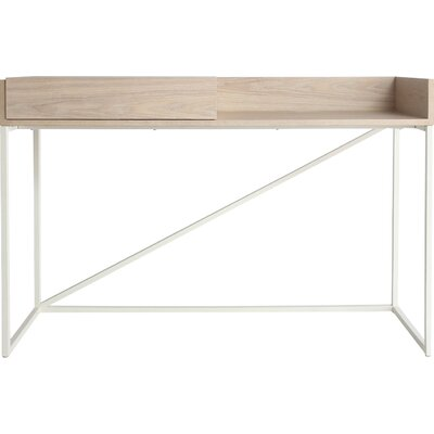 Swish Writing Desk Color: White