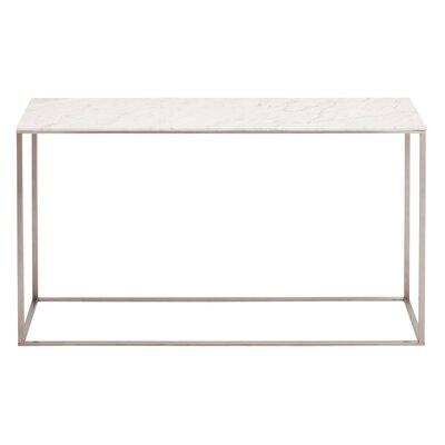 Minimalista Console Table Color: Honed Stone