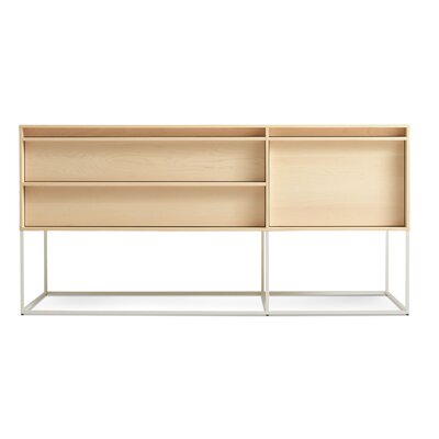 Rule 1 Door/2 Drawer Console Color: Maple