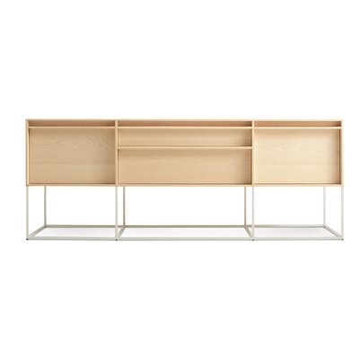Rule 2 Door/2 Drawer Console Color: Maple