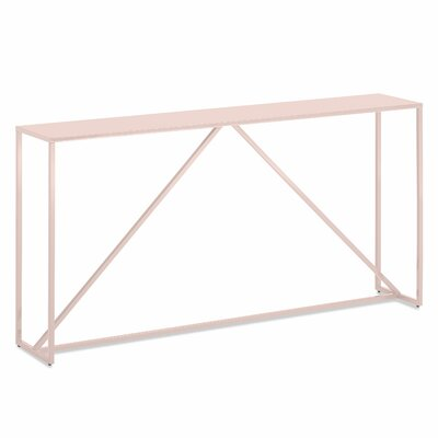 Strut Console Table Color: Sweetness