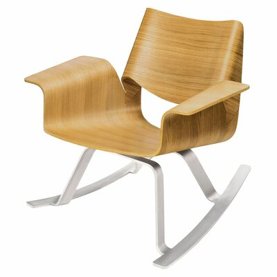 Buttercup Rocking Chair Frame Color: Rift-Sawn White Oak