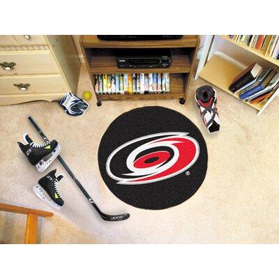 FANMATS NHL - Carolina Hurricanes Puck Mat
