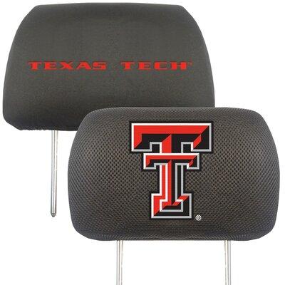 NCAA Head Rest Cover NCAA Team: Texas Tech