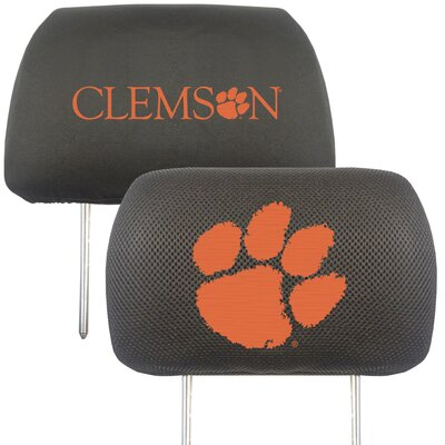 NCAA Head Rest Cover NCAA Team: Clemson