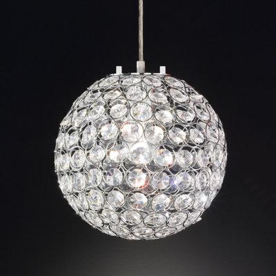 Honsel Kugel-Pendelleuchte 1-flammig Estrella