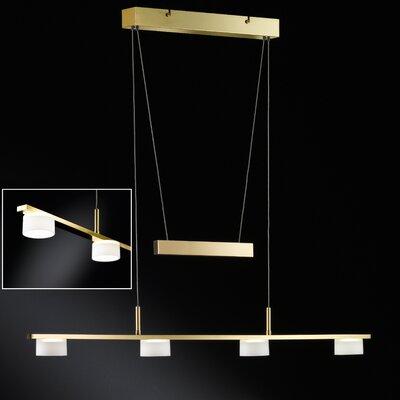 Honsel Design-Pendelleuchte 4-flammig Arvid