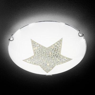 Honsel Deckenleuchte 1-flammig Star Crystal