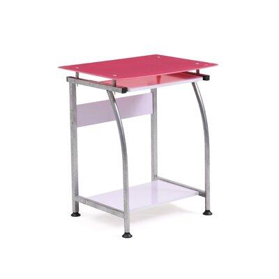 Barna Computer Desk Finish: Pink