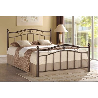 Hodedah Metal Bed Twin