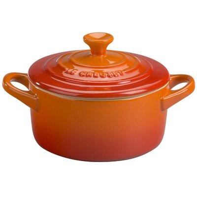 Le Creuset Stoneware 0.25 Qt. Round Cocotte