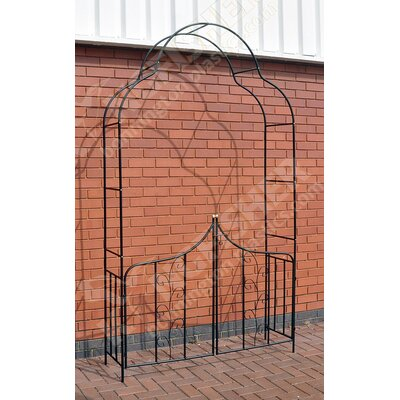 Kingfisher Garden Arch with Gates