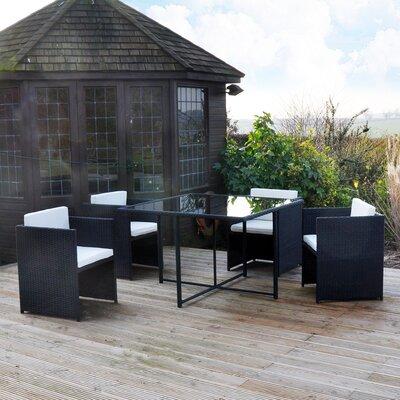 Kingfisher 4 Seater Dining Set